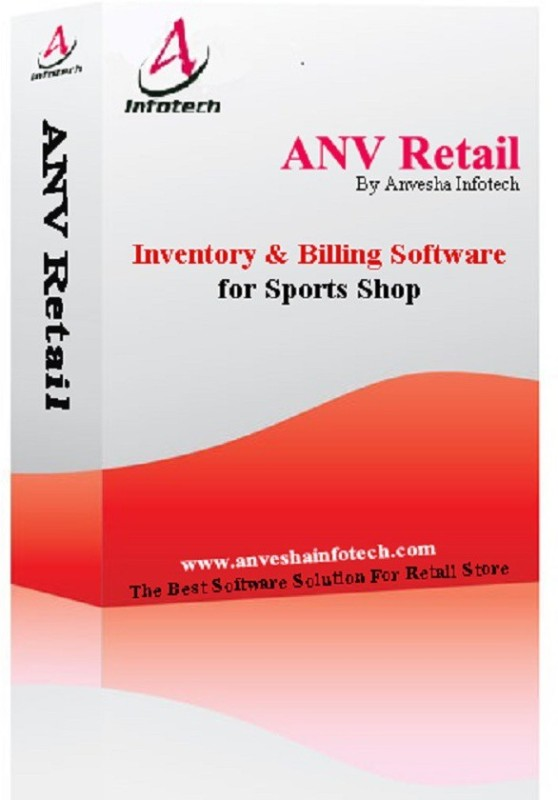 ANV Retail Anv Retail Sports Store Software(Life Time, 1 PC)