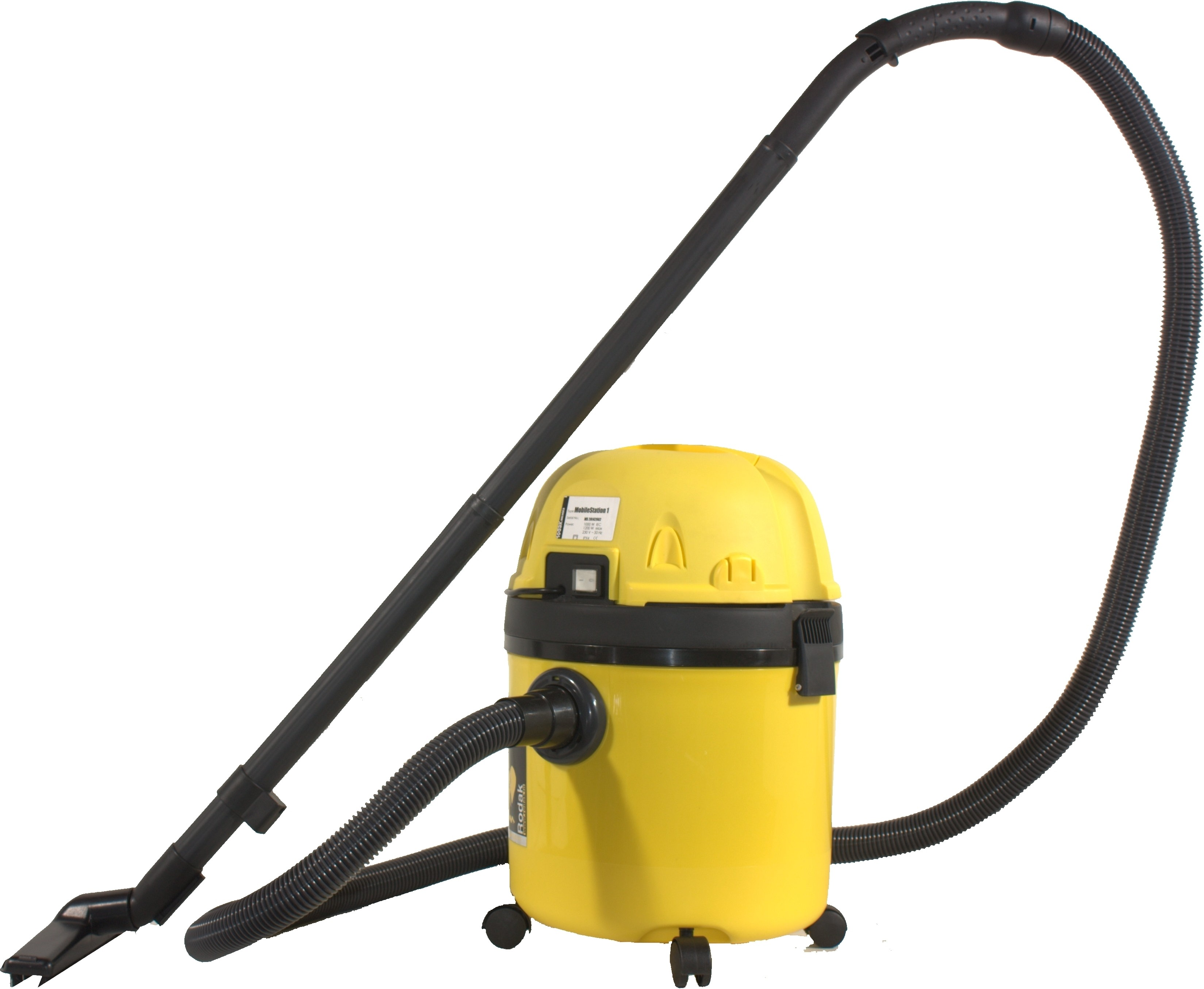 View Rodak MobileStation 1 20L Wet & Dry Cleaner(Yellow) Home Appliances Price Online(Rodak)