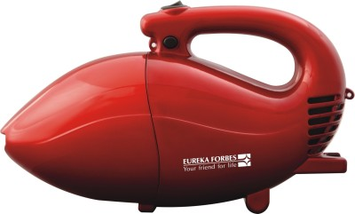 Eureka Forbes Rapid Hand-held Vacuum Cleaner(Black, Red)
