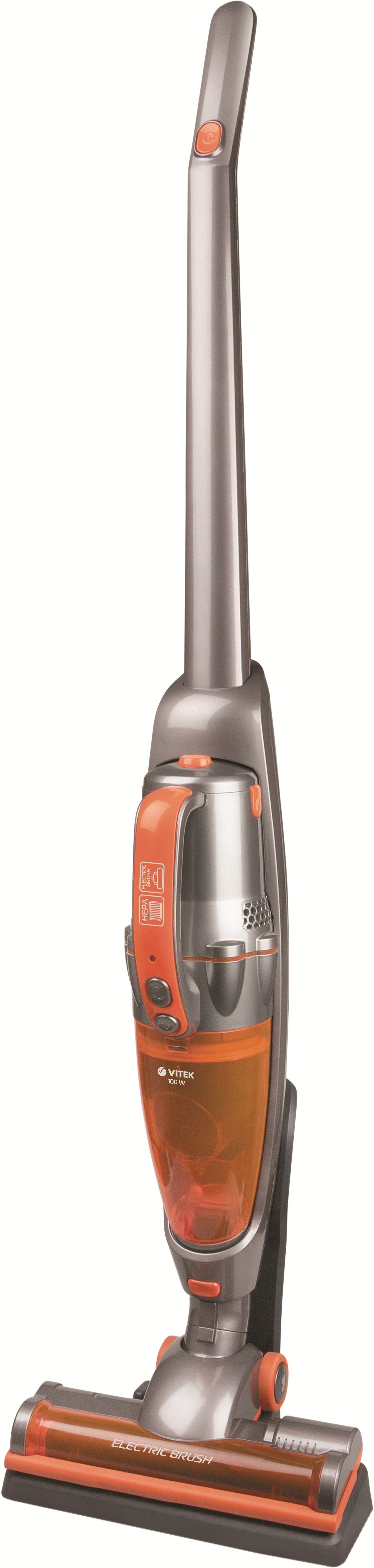 View VITEK VT-1819-I Dry Vacuum Cleaner(Orange, Brown, Black) Home Appliances Price Online(VITEK)