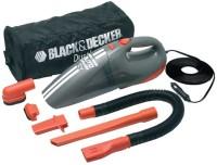 Black & Decker ACV1205-IN Car Vacuum Cleaner(Grey, Orange)