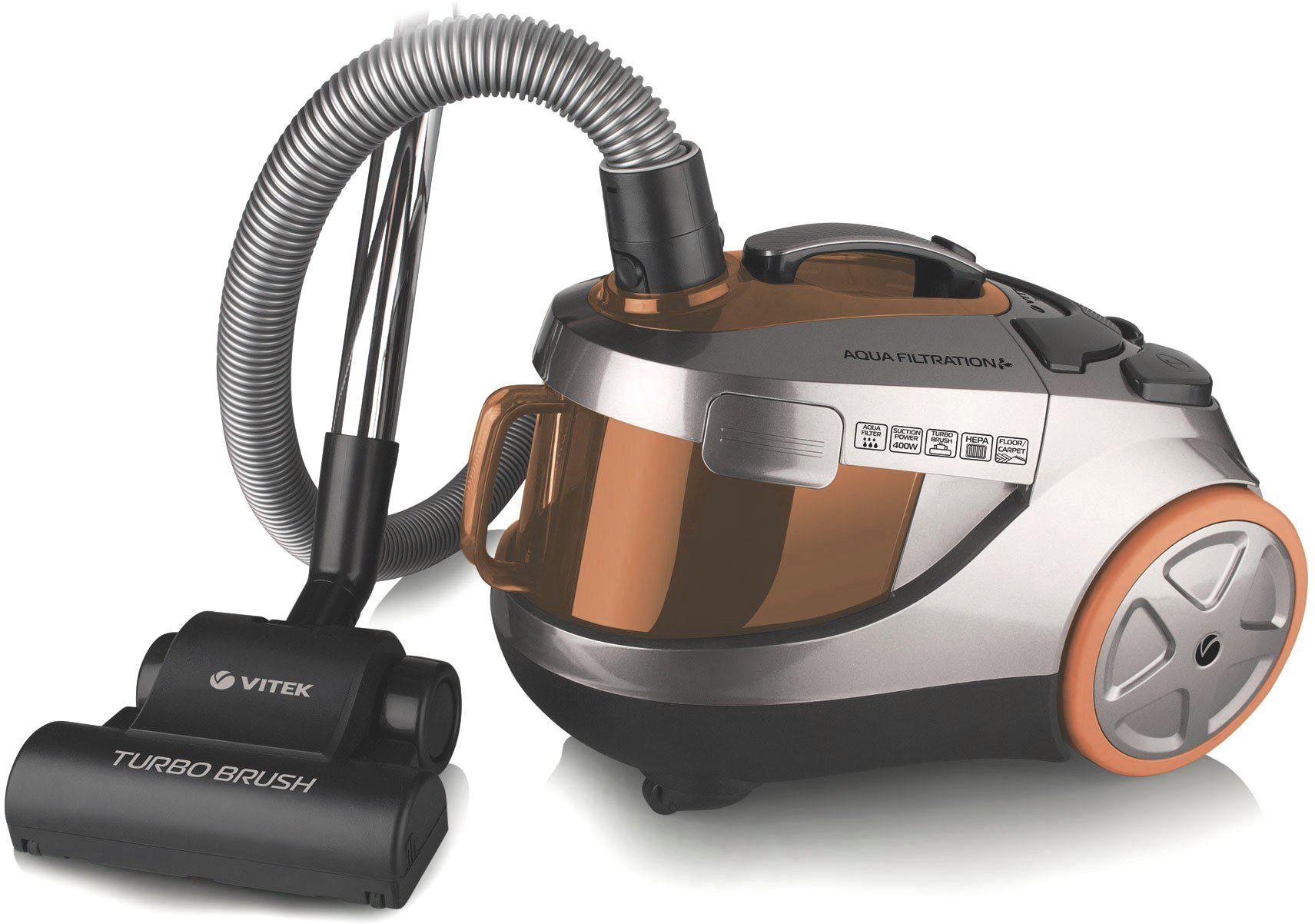View VITEK VT-1838-I Wet & Dry Cleaner(Orange, Brown, Black) Home Appliances Price Online(VITEK)