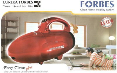 Eureka Forbes Easy Clean Plus Dry Vacuum Cleaner(Maroon)