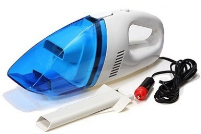 De AutoCare Dry Cleaning DC 12V Mini High Power Fully Portable & Light Weight Car Vacuum Cleaner(Multicolor)