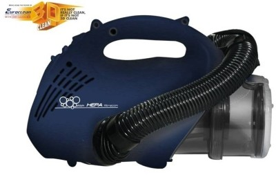 Euroclean Eureka Forbes Bravo Hand-held Vacuum Cleaner(Blue and Silver)