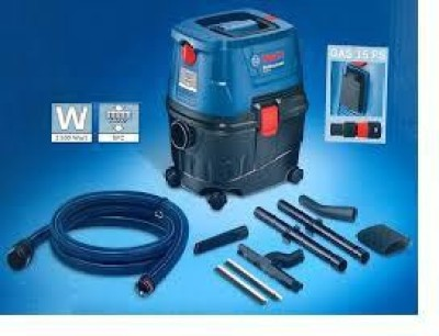Bosch Gas 15/Gas Ps Wet & Dry Cleaner(Blue, Black)