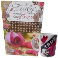 Saugat Traders ST0001061 Greeting Card, Mug Gift Set