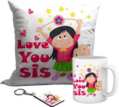 TIEDRIBBONS Rakhshabandhan gift for sister Gift Set