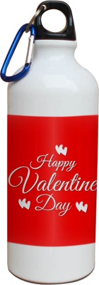 Tiedribbons Happy Valentine Day Sipper 600 ml Water Bottle