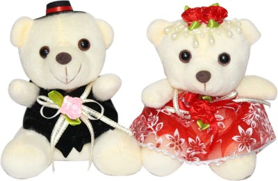 CTW Beautiful Couple Heart Love Teddy Gift Set Gift Set