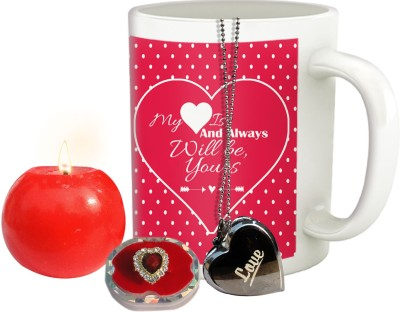 Tiedribbons love you combo for fiancee or girl friend Gift Set