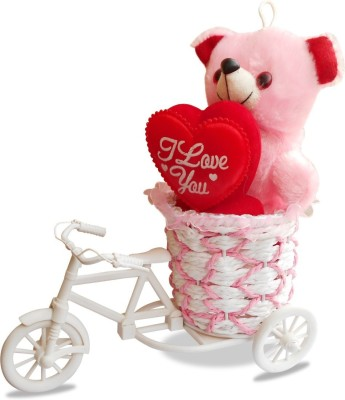 CTW Cycle Romantic Love Gift set Teddy Valentine Day Gift Set