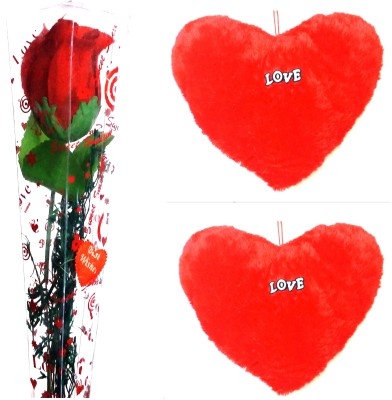 99DailyDeals R37 Red Rose and Love Teddy For Valentines Day Gift Set