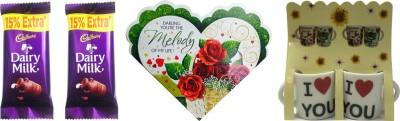 Priyankish I Love You Cups Combo Gift Set