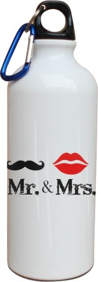 Tiedribbons Mr And Mrs Love You Sipper 600 ml Water Bottle