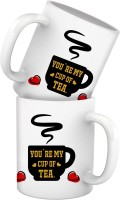 Tiedribbons You Are My Cup Of Tea Best Selling Valentine Gift For Her Or Him Or Couple Or Parents Anniversary Birthday Special Unique Set Mug Gift Set best price on Flipkart @ Rs. 549