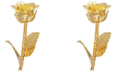 Giftz Gold Plated Gold Rose 6