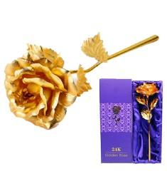 Wishkey G24K Artificial Flower Gift Set