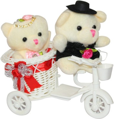 CTW Teddy Cycle Romantic Cute CoupleValentine Gift Set For Valentine's Day Gift Set