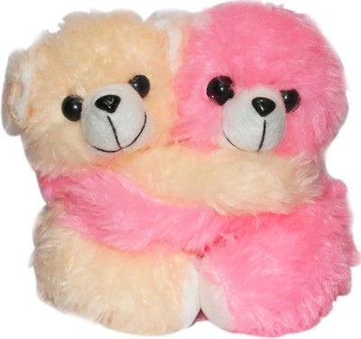 CTW Cute Adorable Couple Hug TeddyBear Soft Toy Gift Pack Gift Set