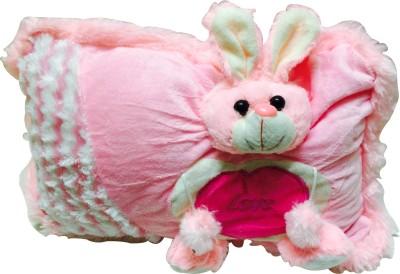 Priyankish Rabit Pink Pillow Soft Toy Gift Set