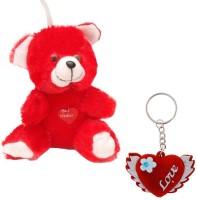 Halowishes Buy Valentine Red Moments Teddy & Love Bird Key Chain Gift -353 Showpiece, Soft Toy Gift Set best price on Flipkart @ Rs. 255