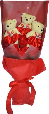 Bird In Blue Soap Flower HSFM004 Gift Set