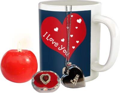 Tiedribbons love you combo for fiancee,wife,girl friend,to be or would be spouse Gift Set