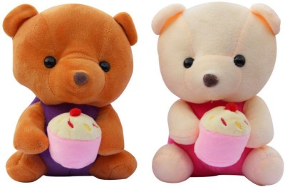 CTW Cute Teddy bear pack of 2 for kids Gift Set