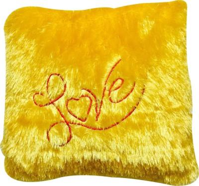 Priyankish Golden Love Pillow Soft Toy Gift Set