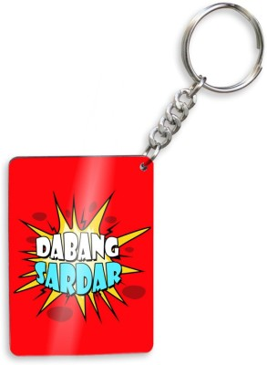 SKY TRENDS Dabang Sister Wooden Ractangle Keychain Gift Set