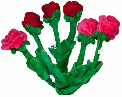 Toygully Artificial Soft Valentine Rose Gift Set