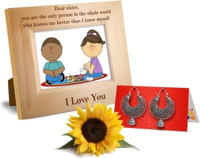 Tiedribbons Gift On Rakhi For Sister Gift Set