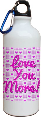 Tiedribbons Love You More Sipper 600 ml Water Bottle