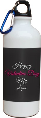 Tiedribbons My Love Happy Valentine Day Sipper 600 ml Water Bottle
