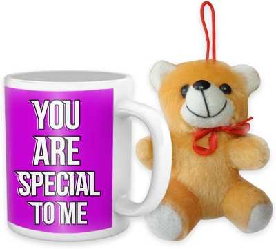 Tiedribbons You Are Special To Me Coffee Mug Teddy Combo Gift Set