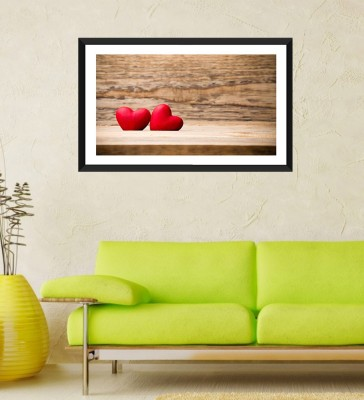 Tallenge - Valentine's Day Gift - Soul Mates - Framed Art Print On Photographic Paper