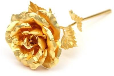 Swiss Rock Gold Rose Artificial Flower