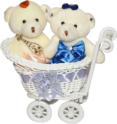 CTW Trolly Cycle Romantic Teddy Love Set Valentine Day Gift Gift Set