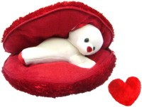 Saugat Traders Big Heart Teddy with Small Heart  - 9.84 Inch(Red) best price on Flipkart @ Rs. 529