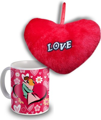 Sky Trends Happy Hug Day Heart and Mug Special Gifts Gift Set