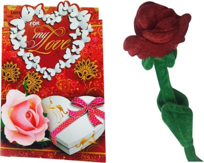 Priyankish For My Love Greeting Card Combo Gift Set