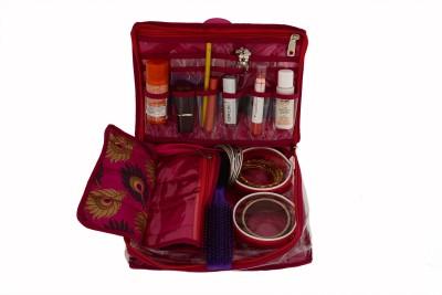 K&P Travelling Jewellery Kit Makeup and Jewellery Vanity Box