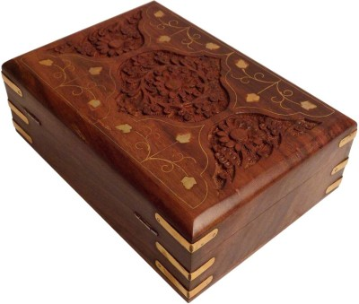 Crafts,man Beautiful Jewellery Box Perfect Gift For Birthday, Marriage Vanity Box