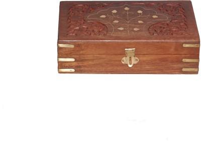 Woodino Handicrafts Large Makeup And Jewellery Vanity Box