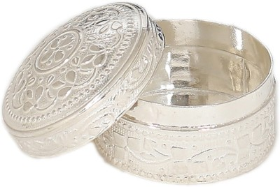 Osasbazaar Purity Certified 925 Sterling Silver Box for Jewellery, Small Items Vanity Box