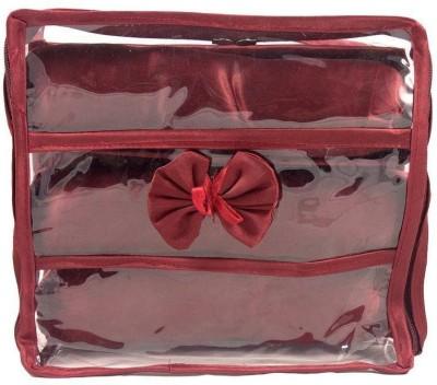 Ermani Export Maroon Transparent Bangles Cover Bangle Box Vanity Box
