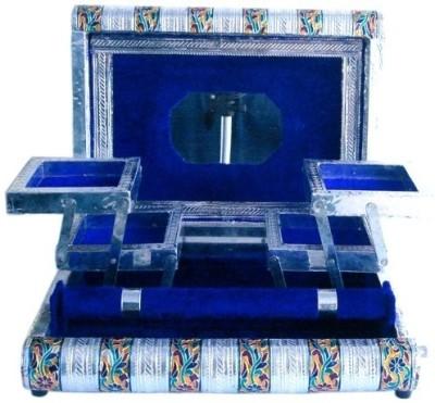 EtsiBitsi White Metal_B Jewellery Vanity Box