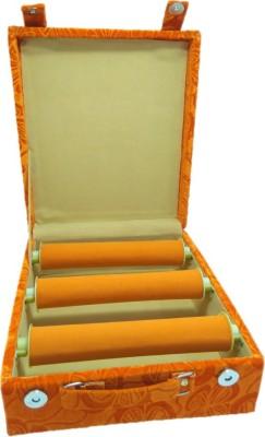 Lnc 3 Rool Orange Lahar Bangle Storage Box Bangle Storage Vanity Box