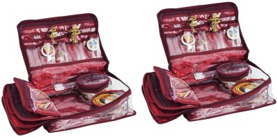 Bahurani Boutique Combo of 2 Locker Jewellery Vanity Box